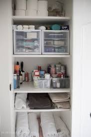Bathroom Closet Storage Ideas Squared Away The Bathroom Closet And Gray