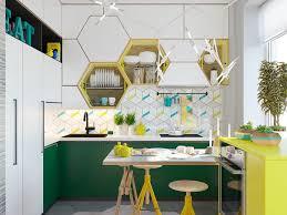 kitchen decorating navy hexagon tile white hexagon tile