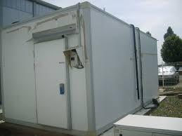 chambre froide industrielle prix chambre froide négative autonome de 57 m3 occasion