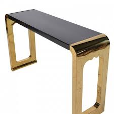 Gold Console Table Black And Gold Console Table Shabby Chic And French Style Furniture