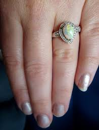 opal and engagement ring opal engagement ring weddingbee