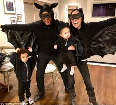 today hosts show off kids u0027 halloween costumes in new york daily
