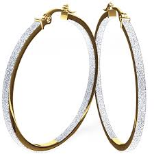 large gold hoop earrings look and sassy in your big hoop earrings pink diamond