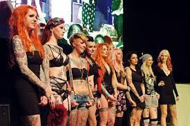 tattoo expo leipzig wahl des tattoo starlets 2014