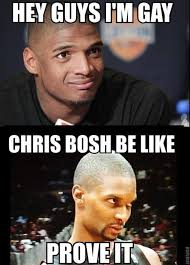 Michael Sam Meme - nba meme team on twitter michael sam receives the bosh welcome