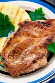 pineapple grilled pork chops kitchme
