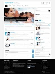 report joomla business template