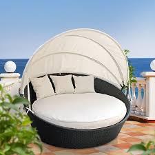 Outdoor Daybed With Canopy Brayden Studio Holden Canopy Outdoor Patio Daybed With Cushions