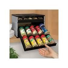 18 Jar Spice Rack Amazon Com Kamenstein Criss Cross Bamboo 18 Jar Spice Rack With