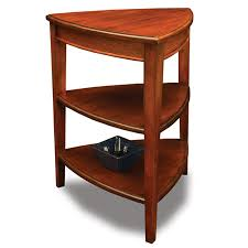 leick corner accent table leick shield tier corner accent table furniture pinterest