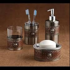 cowboy bathroom ideas attractive cowboy 3 bath accessories set western