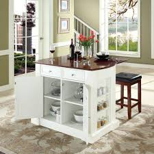 wood manchester door frosty white kitchen islands with seating and