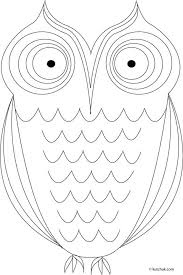 owl coloring pages images kids book owls sarnat owl coloring pages