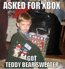 Sweater Meme - teddy bear sweater quickmeme