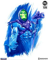 masters of the universe he man and skeletor art print by ale