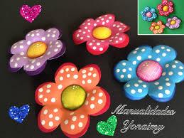 flores sencillas de foamy con termoformado foam flowers