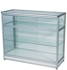 lockable glass display cabinet showcase rectangular full display showcase counter with storage dimensions