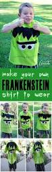 frankenstein shirt make it for halloween for kids or adults