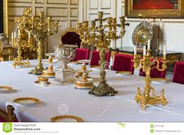 Dinner Table Royal Dinner Table Stock Images Image 35772174