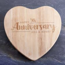 fifth anniversary gift wood 5th wedding anniversary gifts the gift experience