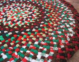 Handmade Rag Rugs For Sale Rag Rug Etsy