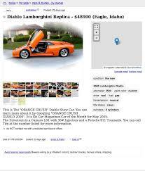 yahoo best black friday car deals for 48 900 is this 2000 lamborghini diablo replica an unreal deal