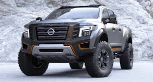 black nissan 2016 2016 nissan titan warrior concept black edition galleryautomo
