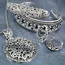 silver necklace from india images Which are the famous wholesale markets for handcrafted silver