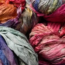 sari silk ribbon sari silk ribbon fibres yarn archives stef francis