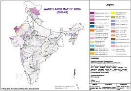 Map Of India With States by Atlas National Remote Sensing Centre