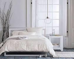 White Ruffled Comforter Nightstand Splendid White Ruffle Comforter With Area Rug And