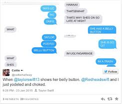 taylor swift fan club address taylor swift just revealed her mythical bellybutton and fans are