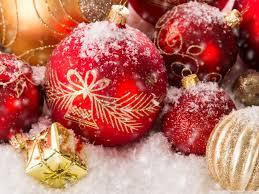 christmas ornaments hd desktop wallpaper high definition