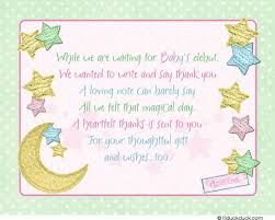 what to put on baby shower card 15465