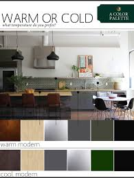 modern color scheme a color palette warm or cool modern the anatomy of design