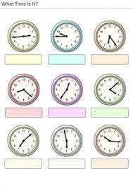 trabaja las horas y los relojes 2 cuadernillos y fichas para