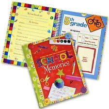 kids photo albums school memory scrapbook album photo kids preschool through 12th