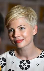 short pixie hairstyles for people with big jaws michelle williams broadway debut cabaret sally bowles pixies big