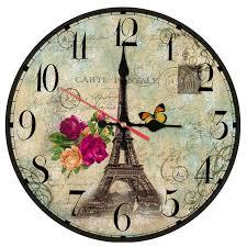 new wall clock wooden clocks home decor quartz watch single