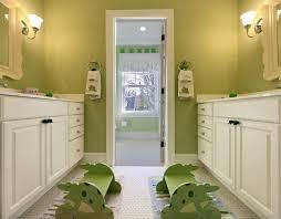 Blue And Green Kids Bathrooms Contemporary Bathroom by Jack And Jill Bathroom Design Ideas