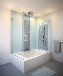 large bathroom wall cabinets with contemporary frameless shower