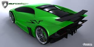 Lamborghini Murcielago Green - lamborghini murcielago next generation concept study autoevolution