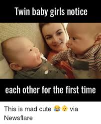 Babies Memes - twin baby memes baby best of the funny meme