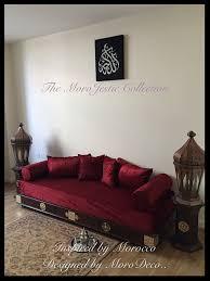 luxurious moroccan sofa day bed arabian bench moorish