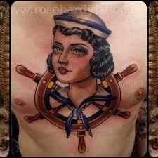 mariner tattoo by rose hardy tattoo