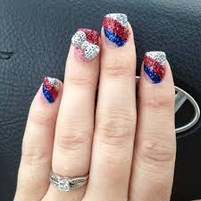 nail art 46 dreaded fourth of july nail art designs image