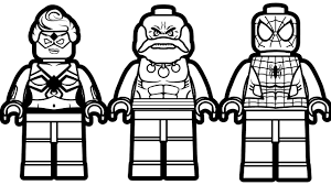lego spiderman vs lego hulk maestro vs lego tarantula coloring