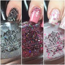 mdj creations 5 free vegan nail polish swatch and review