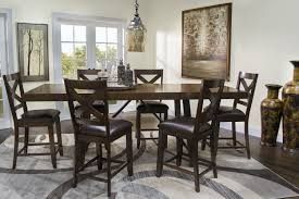 Counter Height Dining Room Table Mor Furniture For Less The Omaha Counter Height Dining Room Mor