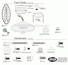 casablanca ceiling fan replacement parts casablanca fan parts diagram with regard to hunter ceiling fan light